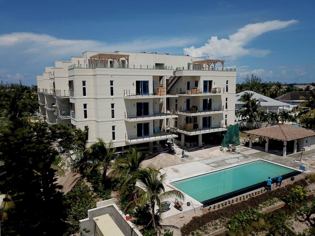 Thirty Six Paradise Island side with pool